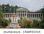 the building of an abandoned... | Shutterstock . vector #1568931514