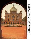 Tomb Of Safdarjung Seen From...