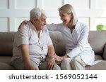 friendly mature general... | Shutterstock . vector #1569052144