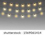 christmas or celebration lights ...   Shutterstock .eps vector #1569061414