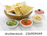 Tortilla Chips With Four Super...
