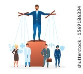 authoritarian regime flat... | Shutterstock .eps vector #1569186334