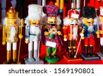 wooden nutcrackers christmas... | Shutterstock . vector #1569190801