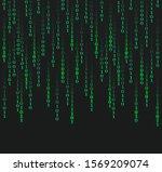 digital binary code.  abstract...   Shutterstock .eps vector #1569209074