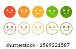 emoji rating system vector...   Shutterstock .eps vector #1569221587