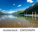 Waterton Lake from Goat Haunt Ranger Station