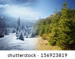 Beautiful Mountain Scenery Wit...