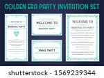 great christmas invitation in... | Shutterstock . vector #1569239344