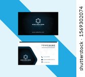 business card design for... | Shutterstock .eps vector #1569302074