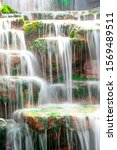 Blurred Motion Waterfall On...