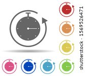 stopwatch  timeframe  arrow in...