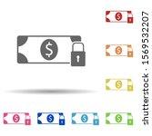 dollar lock in multi color...