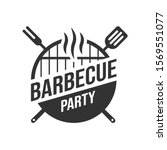 barbecue and grill label. bbq...   Shutterstock .eps vector #1569551077