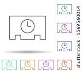 full time multi color icon....