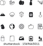 nature vector icon set such as  ... | Shutterstock .eps vector #1569665011