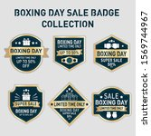 collection of vintage boxing... | Shutterstock .eps vector #1569744967