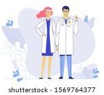 medicine team concept with... | Shutterstock .eps vector #1569764377
