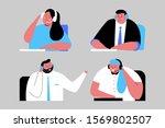 support service vector cartoon...   Shutterstock .eps vector #1569802507