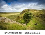 Sycamore Gap On Hadrians Wall...