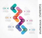 modern design of a template in... | Shutterstock .eps vector #156983951
