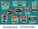 roadside signboards style...   Shutterstock .eps vector #1570011004