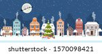happy new year and merry...   Shutterstock . vector #1570098421