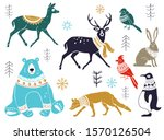 vector collection of artistic... | Shutterstock .eps vector #1570126504