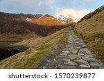 Cobblestone Path To The Summit...