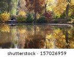 lake in autumn | Shutterstock . vector #157026959