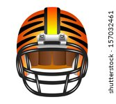 football helmet with tiger...