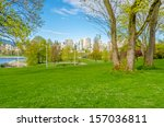 gorgeous sea walk in the park.... | Shutterstock . vector #157036811