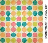 seamless geometrical ornament... | Shutterstock .eps vector #157037189