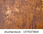 Small photo of metal rust background
