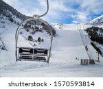 Empty Chairlift At Vallter 200...