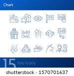 chart line icon set. profit ... | Shutterstock .eps vector #1570701637