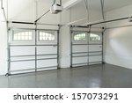residential house garage... | Shutterstock . vector #157073291