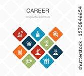 career infographic 10 option...