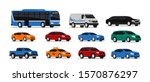 car icons collection. vector... | Shutterstock .eps vector #1570876297
