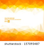 abstract polygonal wallpaper  ... | Shutterstock .eps vector #157093487