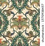 colorful seamless arabian... | Shutterstock .eps vector #1570938457