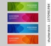 vector abstract design banner... | Shutterstock .eps vector #1570981984