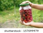 raspberries | Shutterstock . vector #157099979