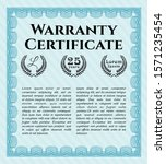 object olight blue warranty...   Shutterstock .eps vector #1571235454