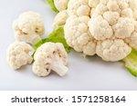 Ripe Fresh Cauliflower ...