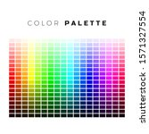 Colorful Palette. Set Of Bright ...