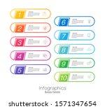 infographics design vector and... | Shutterstock .eps vector #1571347654
