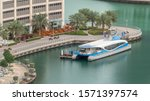 Waterfront Promenade With Wate...
