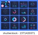 big set of infographics...   Shutterstock .eps vector #1571420371