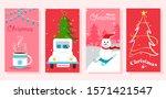 vector illustration of merry... | Shutterstock .eps vector #1571421547