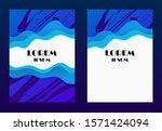 cloud gradient background with... | Shutterstock .eps vector #1571424094